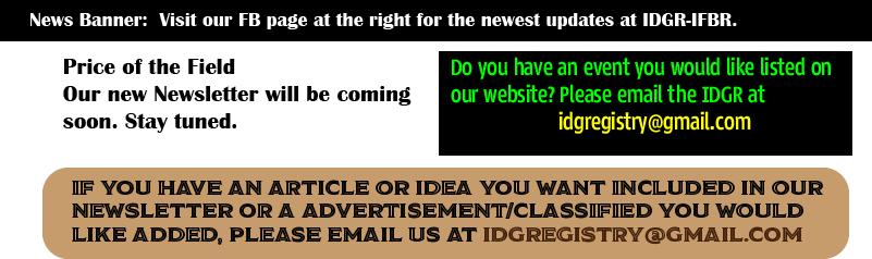 News Banner IDGR-IFBR
